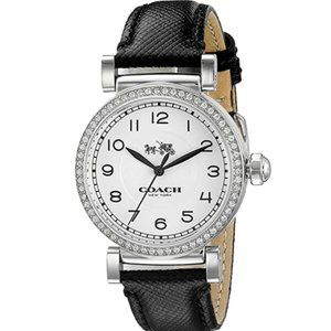 NWT COACH Women's Madison Fashion Leather Watch